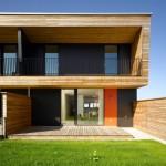 Südhausbau Musterhaus Passiv-Reihenhaus