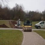 Neuer Parkweg im Bergfeldpark